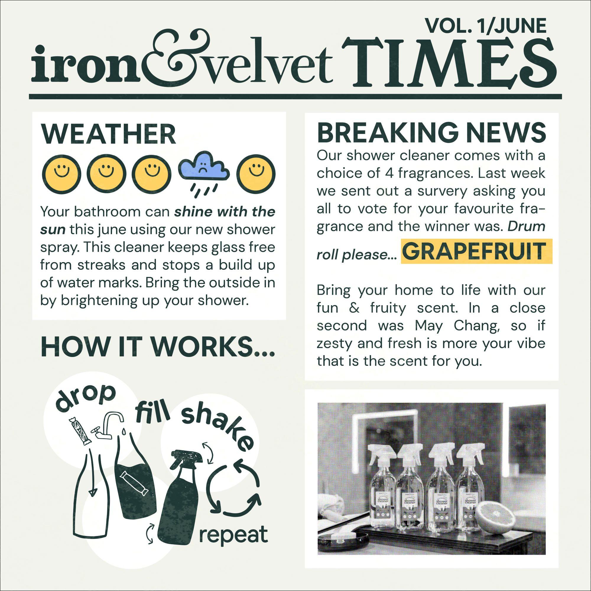 Iron & Velvet Times Vol 1 June